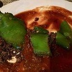 Mushroom Stuffed Anaheim Pepper