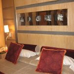 Schöne Zimmereinrichtung im Morgana in Rom