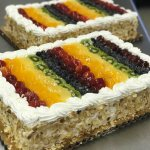 California Cake ,with all the fresh fruits