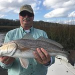 25 inch red fish