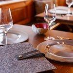 Gaststube (Platz für 28 Gäste)