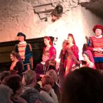 Banquet at bunratty castle