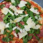 Delicious Mamma Mia special pizza