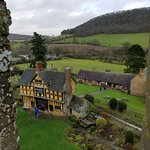 View from the top of the tower, Stokesay Castle