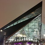 Fifth-floor, city side view — US Bank Stadium