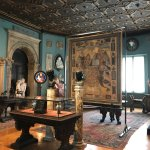 The Italy room and its treasures.