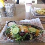 side salad at Smashburger