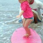 Kids surfing in Bali