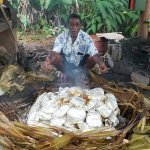 Lovo - a traditional way of cooking over hot rocks!