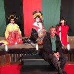 I became part of the Geisha Performance