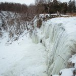 Frozen Webster Falls in Hamilton