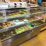 Variety of fresh donuts (close your eyes and pick...they're all good!)