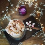 Mmmmm......hot chocolate with marshmallows and cream.