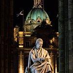 Sir Walter Scott and Maida, Scott Monument, Princes Street, Edinburgh