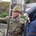 Cobh Rebel Walking Tours - Tour guide Kieran McCarthy during a tour