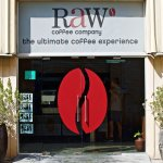RAW Coffee Company's roastery, located in Al Quoz, Dubai.