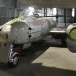 Gloster Meteor (1 of 2 in exhibition)