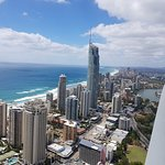 Gorgeous view of the Gold Coast Surfers Paradise QLD from the main balcony