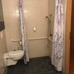 WC in der Dusche! Nasse Füße gratis