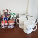 Selection of complimentary tea, coffee and biscuits available in all rooms