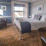 Kynance Room with dual aspect sea view