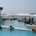 double piscine sur mer