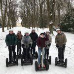 We did a segway tour in the snow with Ivan and we really had a great time!! It was cold but do m