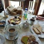 The Hidden Oak Café Victorian Tea Service
