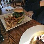 Burger was excellent
