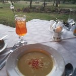 Fantastic cauliflower and gorgonzola soup