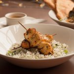 Satay Chicken with Coriander Rice