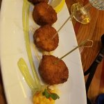 The crabcakes were wonderful