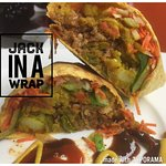 Jack-In a Wrap - Made with Jackfruit and veggies