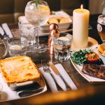 Hearty Fayre in a Cosy Booth