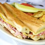 The Columbia's Cuban Sandwich.
