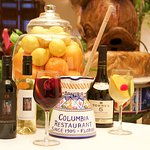 The Columbia's sangria, made with your choice of red or white wine.
