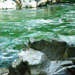Hermosas agua color esmeralda