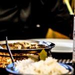Traditional Indisches Essen