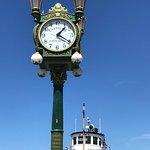 Carroll's Clock near MOHAI
