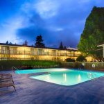 Night Outdoor Pool