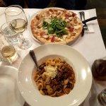 Pizza Fichi, Orrechiette Con Ragu Di Pancetta E Funghi