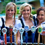 Friendly faces at the Bier Garten on the San Antonio Riverwalk