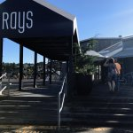 Entrance to Rays