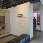 Military medicine exhibit