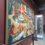 Nice painting at the main hall