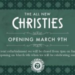 New Christies - Opening soon!!