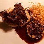 Ris de veau papillon truffe et salsifis