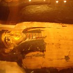 The 3000 year old Mummy on display in the Otago Museum