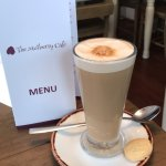 The mulberry cafe Is a excellent cafe with a good selection of food and beverages  Jo  and her s