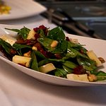 Spinach & Goat's Cheese Salad